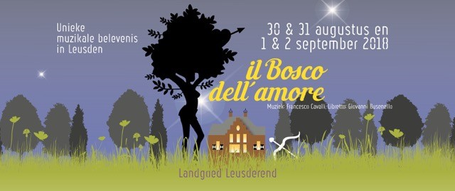 advertentiebeeld van opera Il Bosco dell' amore