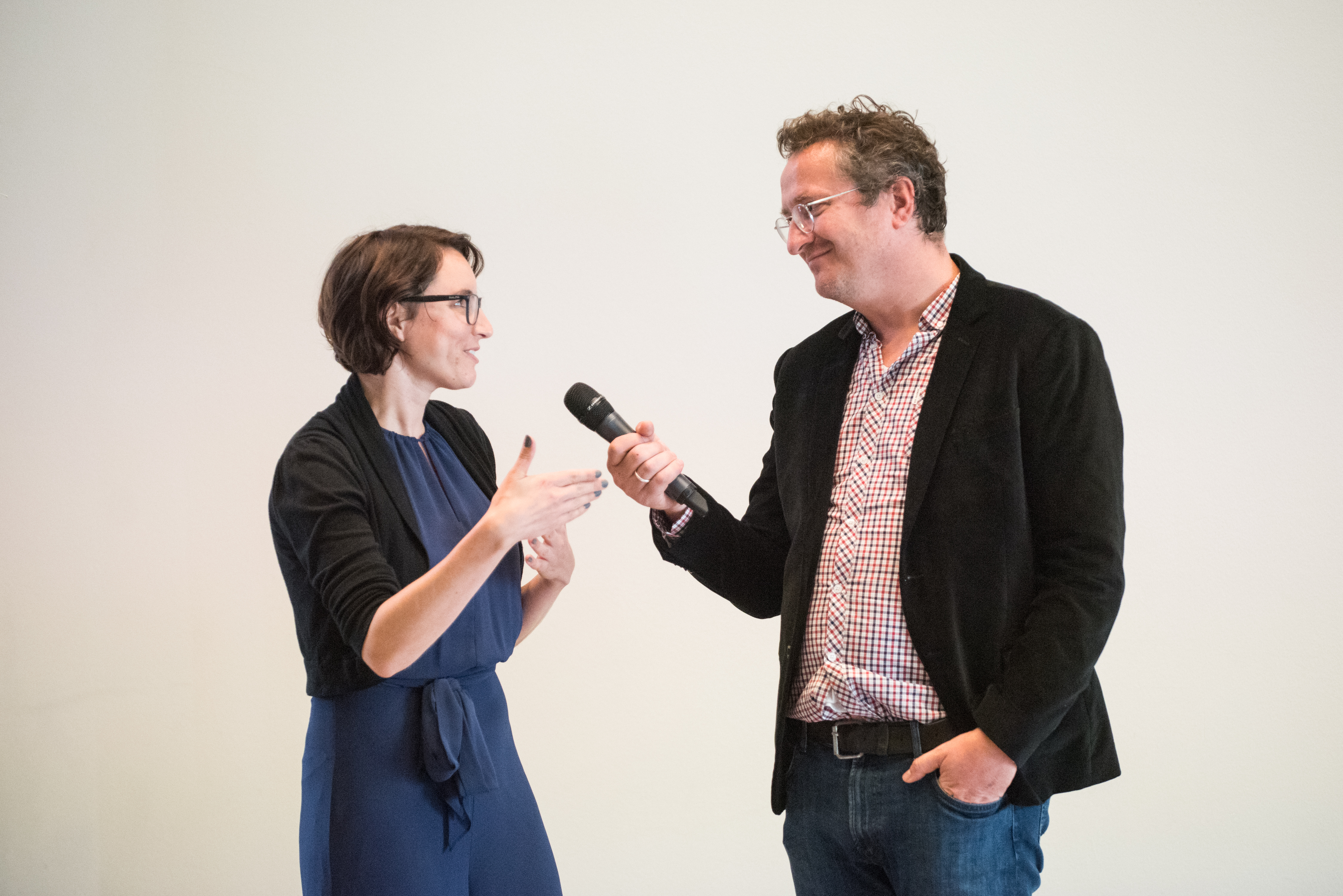 Bart Rutten interviewt Eva Spierenburg